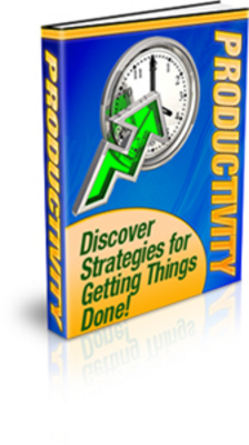 Product picture Pack of Time Management & Procrastination PLR